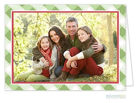 Christmas Morning card - Print & Apply