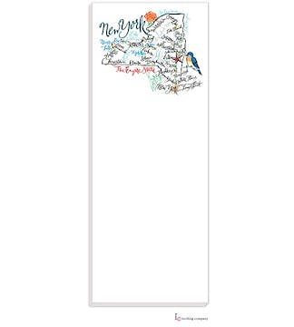 New York Map Notepad