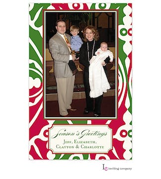 Merry Modern Holiday Flat Photo Card