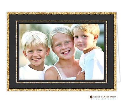 A Dash Of Sparkle Folded Photo Card