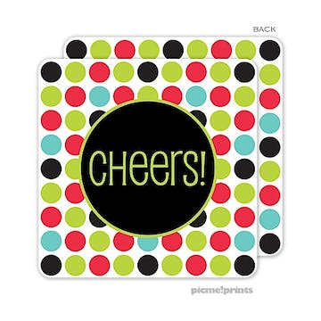 Multi Dots Standard Coaster