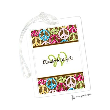 Peace Signs Multi ID Tag