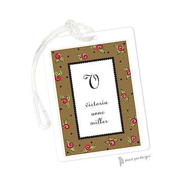 Sweet Roses Chocolate ID Tag