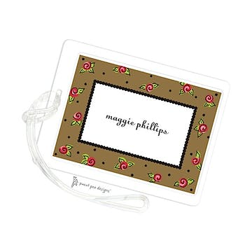 Sweet Roses Chocolate ID Tag
