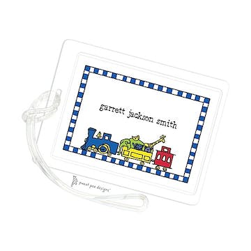 Train Bright ID Tag