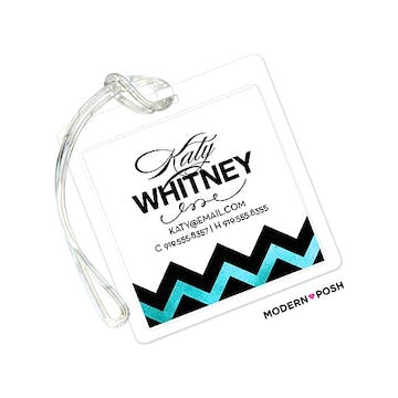 Tiffany Sophisticated Posh ID Tag