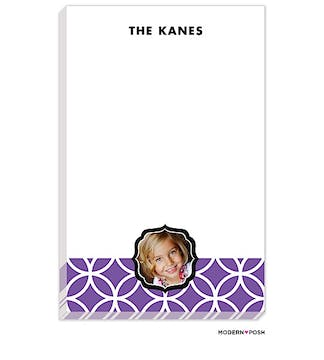 Lattice Posh Lilac Photo Notepad