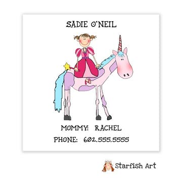 Personalized Character Calling Card