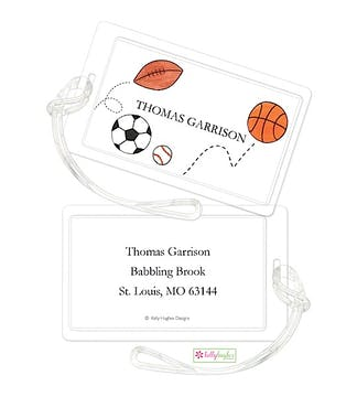 Star Athlete ID Tag