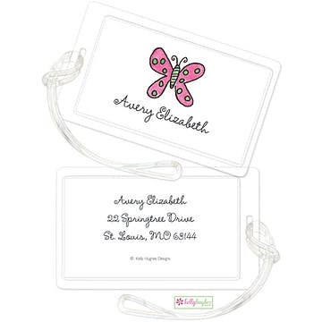 Flutter Butterfly ID Tag