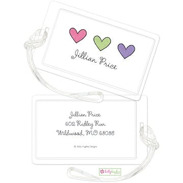 Hearts Are Wild ID Tag
