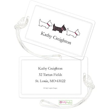 Preppy Pups ID Tag