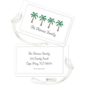 Palm Paradise ID Tag