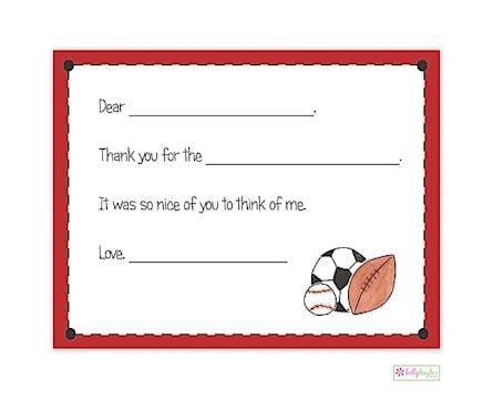 Sports Fan Flat Note