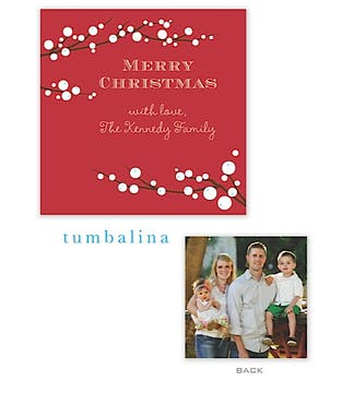 Winterberry Flat Photo Enclosure Card