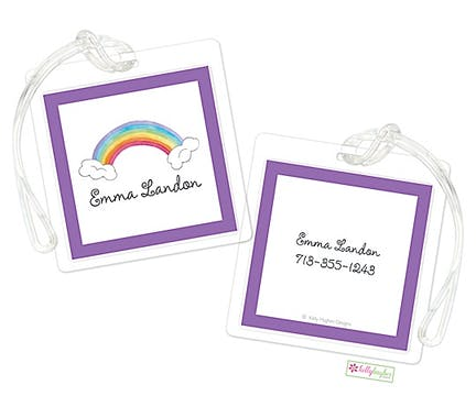 Over The Rainbow ID Tag