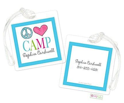 Peace Love Camp ID Tag