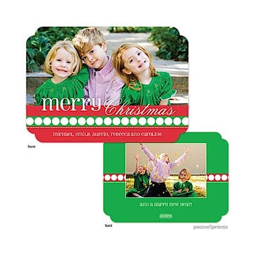 Traditional Colors Flat Photo Card