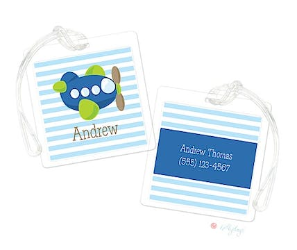 Andrew Airplane Luggage Tag