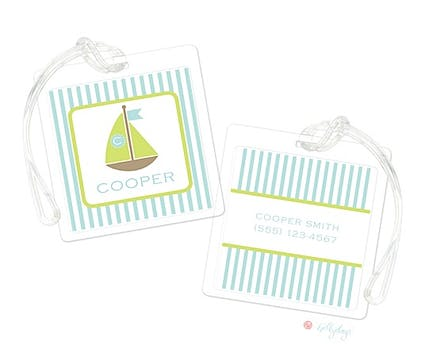 Sailboat Gift Luggage Tag
