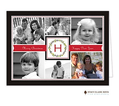 Family Holiday Folded Photo Card