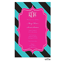 Bold Stripes Invitation