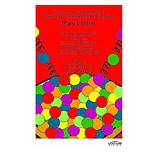 Bouncey Ball Invitation