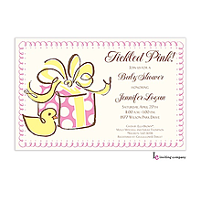Girl Ducky Invitation