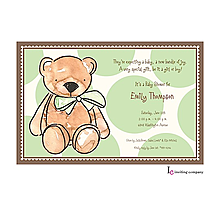 Teddy Invitation