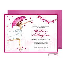 Bridal Love Reigns Banner Invitation