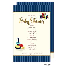 Baby Toys Shower Invitation