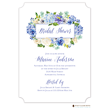 Heirloom Hydrangea Invitation