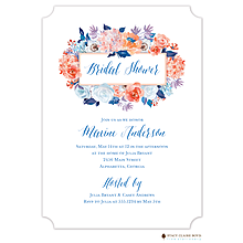 Modern Hydrangea Invitation