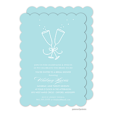 Champagne Paradise Invitation