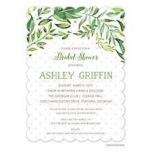 Greenery Invitation