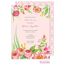 Bridal Blossoms Invitation