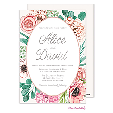 Blossom Bliss Invitation