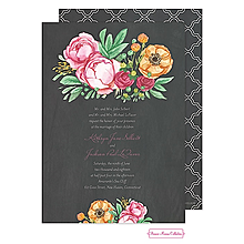 Elegant Bouquet Invitation