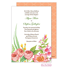 English Rose Garden Invitation