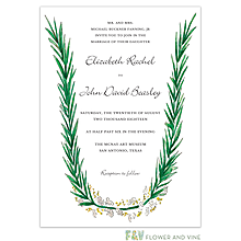 Rosemary and Herbs Invitation