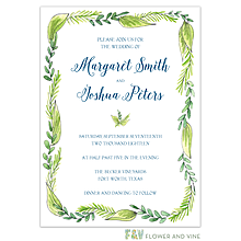 Border Vines Invitation