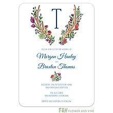 Woodland Antlers Invitation