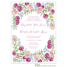 Sweet Pink Invitation