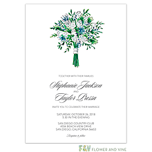 Floral Bouquet Invitation