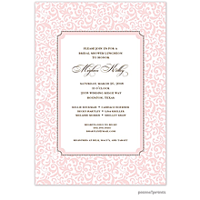 Devereaux Ballet Invitation