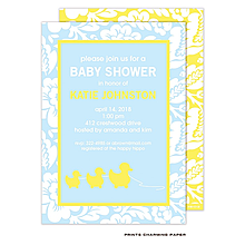 Little Duckies Shower Invitation