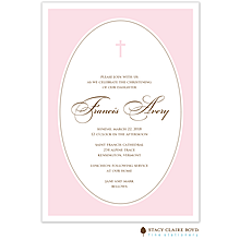 We are Blessed Pink Invitation