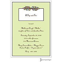 Multi Garland Lime Invitation