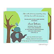 Animal Stack Invitation