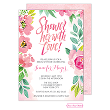 Blossoming Bridal Shower Invitation